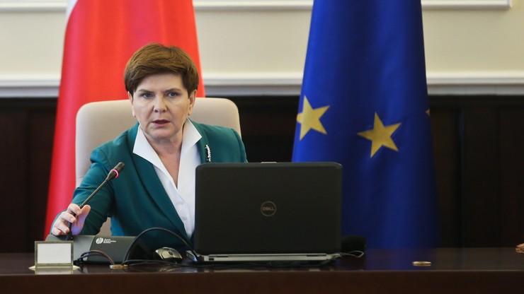 Szydło: nie będzie zgody Grupy Wyszehradzkiej na zmianę zasad relokacji uchodźców