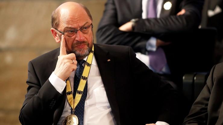 """Schulz krytykuje Trumpa za ostre wypowiedzi na temat Niemiec. """"Nie możemy tego akceptować"""""""