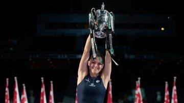 2015-11-01 WTA Finals: Szczęśliwa siódemka Agnieszki Radwańskiej