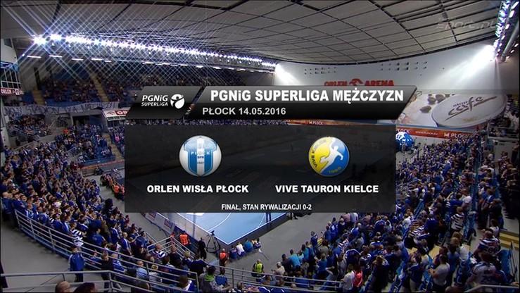 Orlen Wisła Płock - Vive Tauron Kielce: Skrót meczu