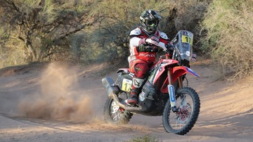2017-01-13 Rajd Dakar: Goncalves najszybszym motocyklistą na etapie, Sunderland liderem