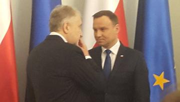 07-01-2016 19:45 Spotkanie prezydenta z prezesem TK przy okazji nominacji sędziowskich