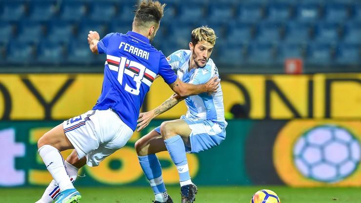 Serie A: Lazio góruje nad Sampdorią, Polacy bezradni