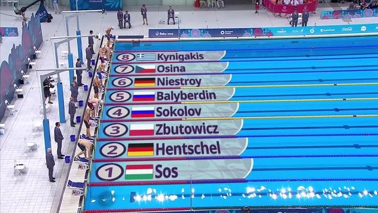 Karol Zbutowicz zdobywa brąz! Zadecydowała setna sekundy!
