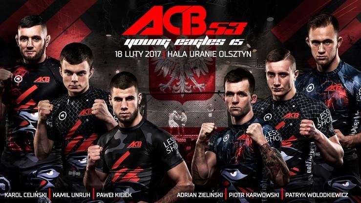 ACB 53: Wyniki ważenia