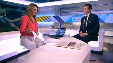 Minister Bańka składa życzenia redakcji Polsat News
