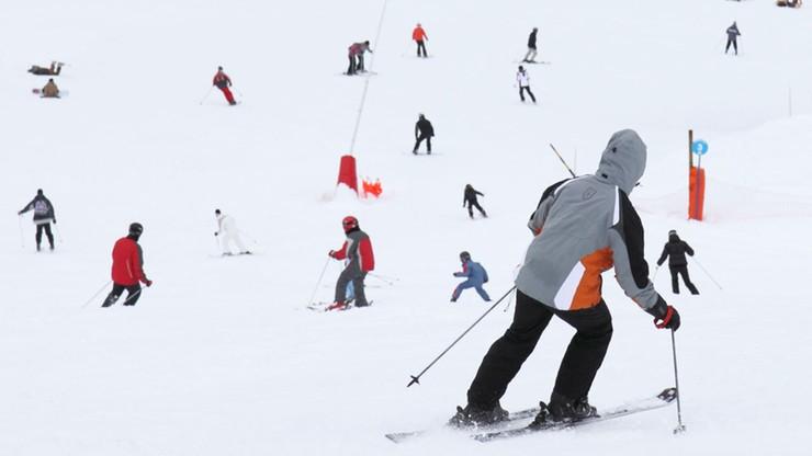 Rekordowo duża liczba wypadków narciarskich podczas ferii