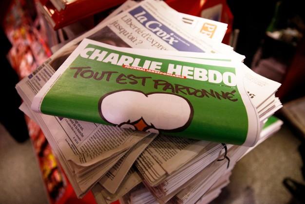 Charlie Hebdo robi przerwę - wyczerpani pracownicy