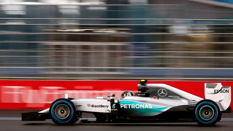 Rosberg wystartuje z pole position w Rosji