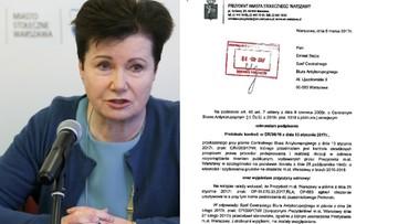 """07-03-2017 23:08 """"Wybiórcze podnoszenie faktów."""" Gronkiewicz-Waltz odpowiedziała na raport CBA o reprywatyzacji"""