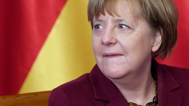 Kanclerz Merkel spotkała się z politykami opozycji