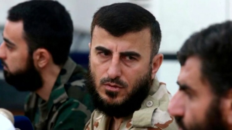 Lider syryjskich rebeliantów zginął w nalocie