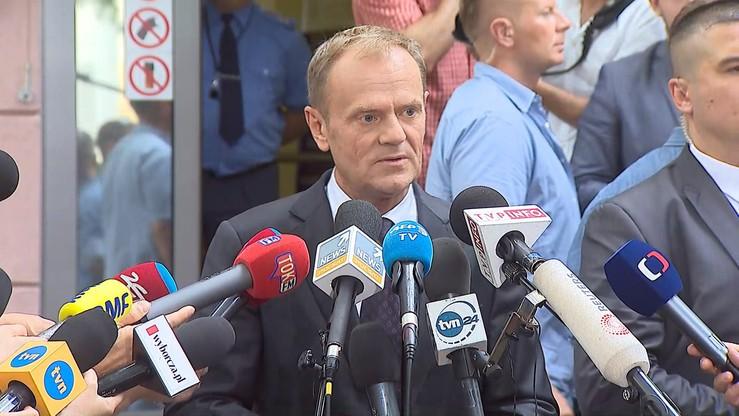 Prokuratura chce wezwania Donalda Tuska na świadka w procesie Tomasza Arabskiego