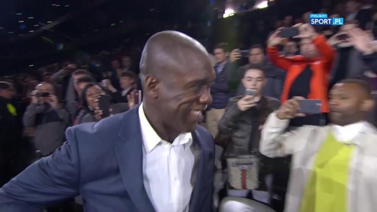 Clarence Seedorf został uhonorowany! Odśpiewał hymn z reprezentacją Holandii