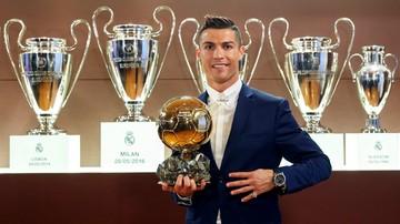 2016-12-12 Złota Piłka: Ronaldo z czwartym trofeum! Lewandowski wypadł z dziesiątki