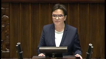 Ewa Kopacz złożyła dymisję Rady Ministrów