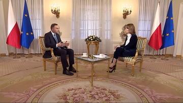 """28-10-2016 20:21 """"Rozumiem ból rodzin smoleńskich, ale obowiązują przepisy"""" - prezydent Duda w programie """"Prezydenci i Premierzy"""""""