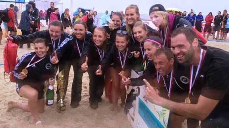 Złote medale w plażowej piłce ręcznej przyznane!