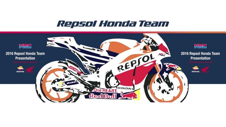Moto GP: Repsol Honda prezentuje swoje barwy