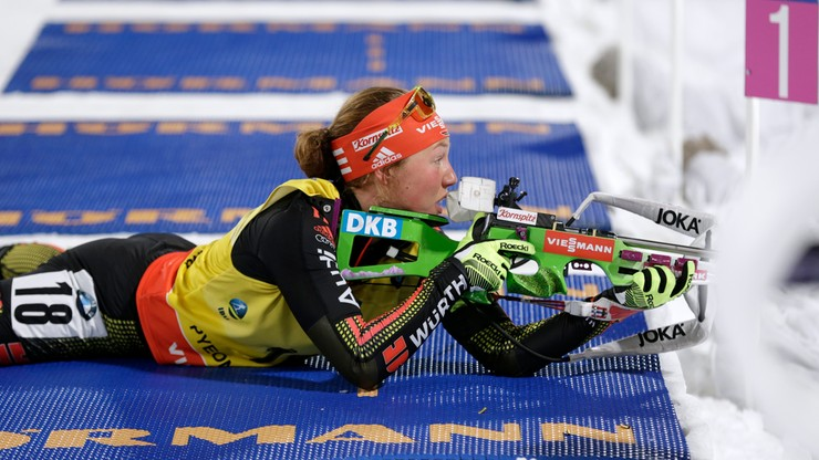 PŚ w biathlonie: Bieg na dochodzenie kobiet. Transmisja w Polsacie Sport Extra