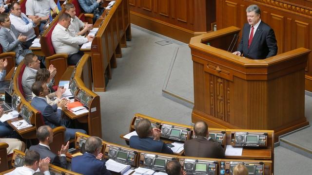 Prezydent Ukrainy broni przyjętych reform