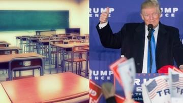 """10-11-2016 17:20 Wykładowcy w USA masowo odwoływali zajęcia. """"Chcą się otrząsnąć"""" po wygranej Trumpa"""