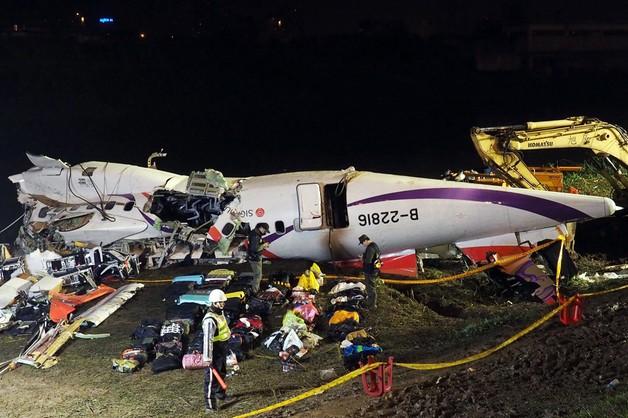 Tajwan: liczba ofiar katastrofy samolotu wzrosła do 31