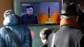 Szef NATO potępił najnowszą próbę rakietową Korei Północnej