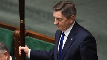 Kuchciński zostaje. Burzliwa debata nad odwołaniem marszałka