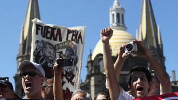 09-01-2017 05:17 Meksyk: protesty przeciwko podwyżce cen paliw
