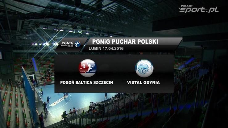 Vistal Gdynia - Pogoń Baltica Szczecin 26:21. Skrót meczu