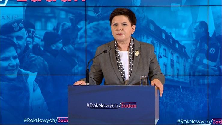 """""""Bezpieczeństwo, rozwój, sprawy społeczne"""". Beata Szydło zapowiada nowe zadania rządu"""
