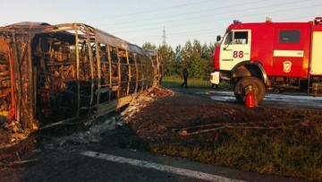 14 ofiar śmiertelnych zderzenia autobusu z ciężarówką w Rosji