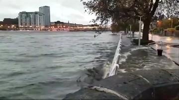 Kolejny huragan atakuje Irlandię i Wielką Brytanię. Brian dmucha z prędkością 130 km/h. Polska bezpieczna