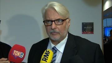 Szef MSZ: kwestia reparacji była zaniedbana od ponad 70 lat