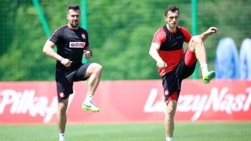 2016-05-24 Trening kadry: Salamon zszedł z kontuzją, Jodłowiec już ćwiczył