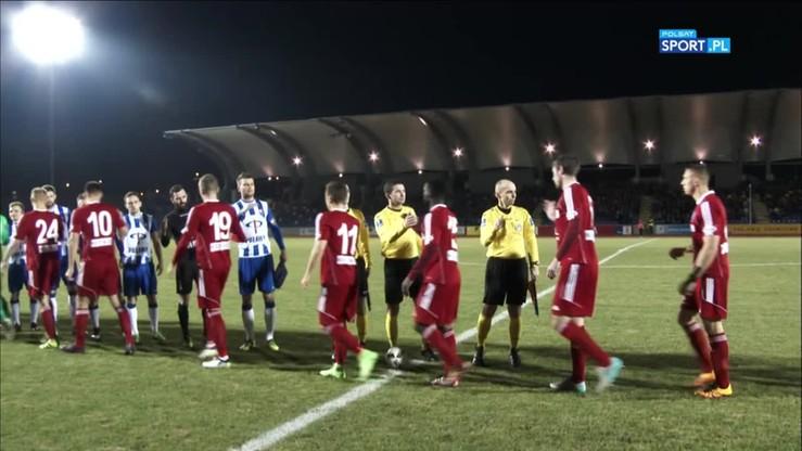 Wisła Puławy - Wigry Suwałki 0:1. Skrót meczu
