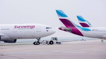 2016-10-21 W niemieckich liniach Eurowings groźba strajku od poniedziałku