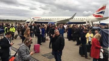 2016-10-21 Chemiczny incydent na lotnisku w Londynie. 500 osób ewakuowanych