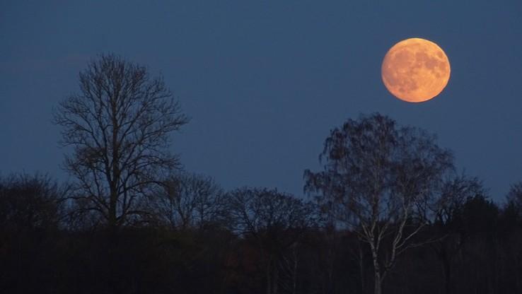 Superksiężyc nad Polską