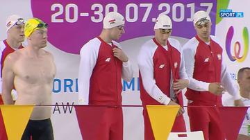 2017-07-22 Kolejne medale Polaków na pływalni! Rekord świata Niemców