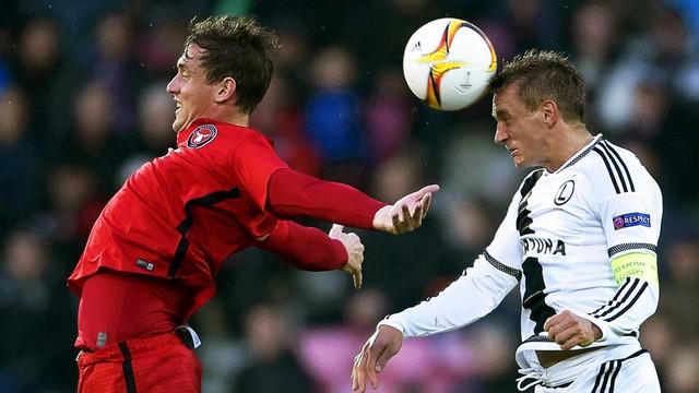 Piłkarska LE - FC Midtjylland - Legia 1:0
