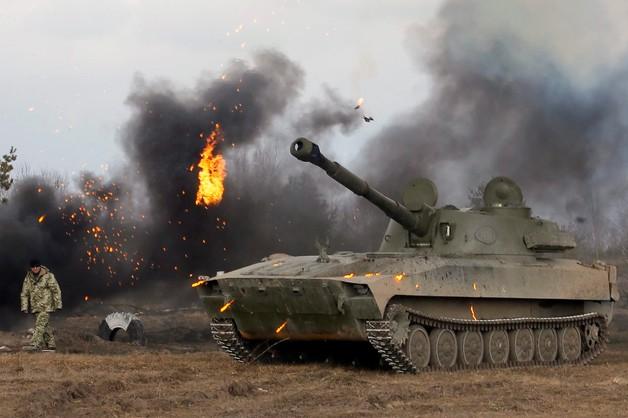 Ukraina: armia oskarża separatystów o atak w pobliżu Mariupola