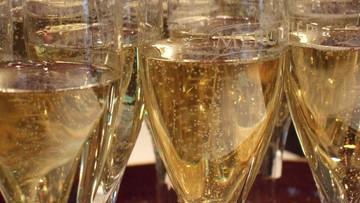 Rekordowy eksport francuskiego szampana i koniaku