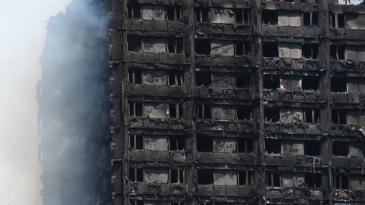 MSZ: polska rodzina poszkodowana w pożarze londyńskiego wieżowca