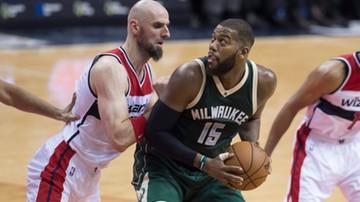 2015-11-18 NBA: Dwanaście punktów Gortata, wygrana Wizards