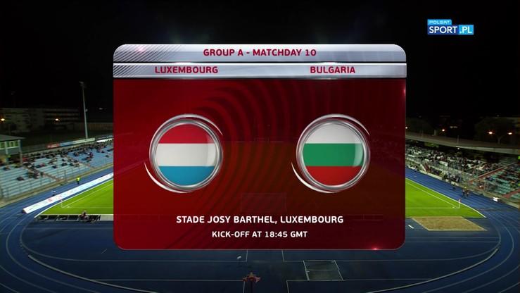 Luksemburg - Bułgaria 1:1. Skrót meczu