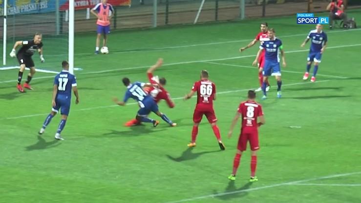 2017-08-21 Miedź Legnica - Zagłębie Sosnowiec 4:1. Skrót meczu