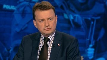 24-08-2016 19:08 Błaszczak: zawieszenie małego ruchu granicznego udaremnia rosyjskie prowokacje