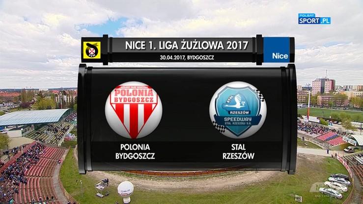 Polonia Bydgoszcz - Stal Rzeszów 46:44. Skrót meczu